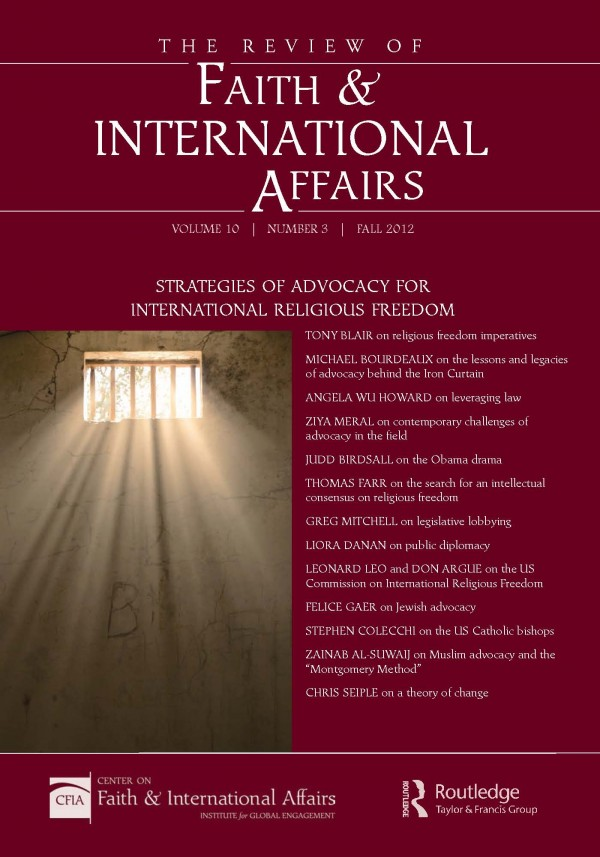 Urgent Questions and Strategic Models for Religious Freedom Advocacy