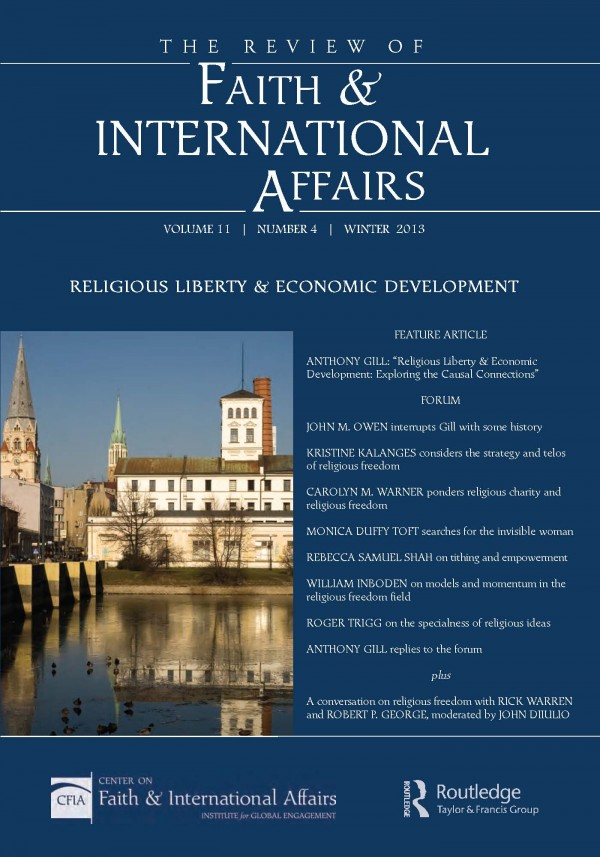 Religious Liberty and Economic Development