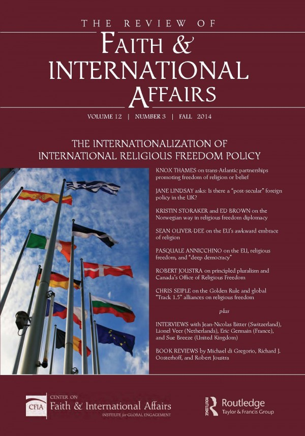 The Internationalization of International Religious Freedom Policy
