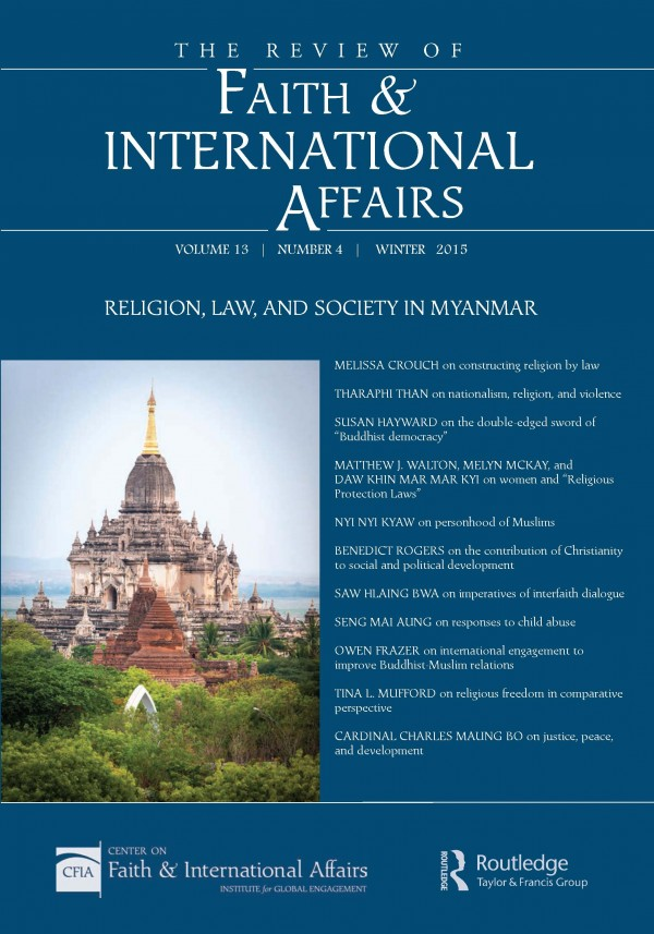 Religion, Law, and Society in Myanmar