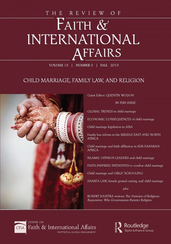Child Marriage, Family Law, and Religion