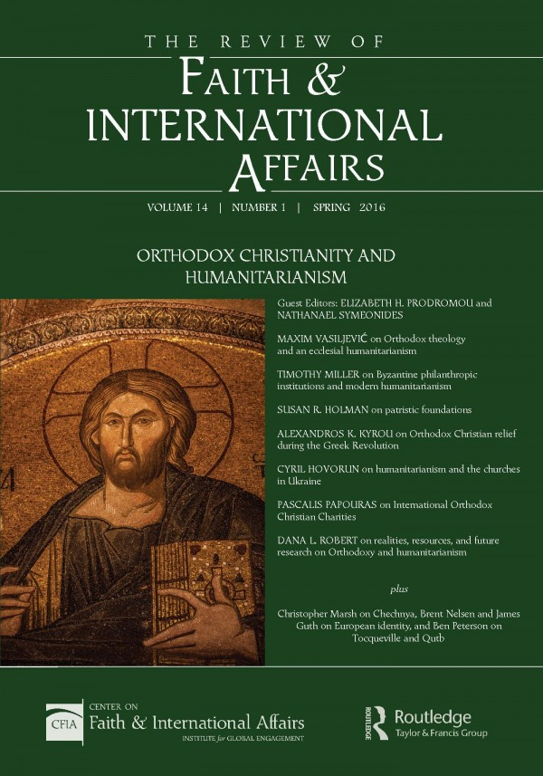 Orthodox Christianity and Humanitarianism