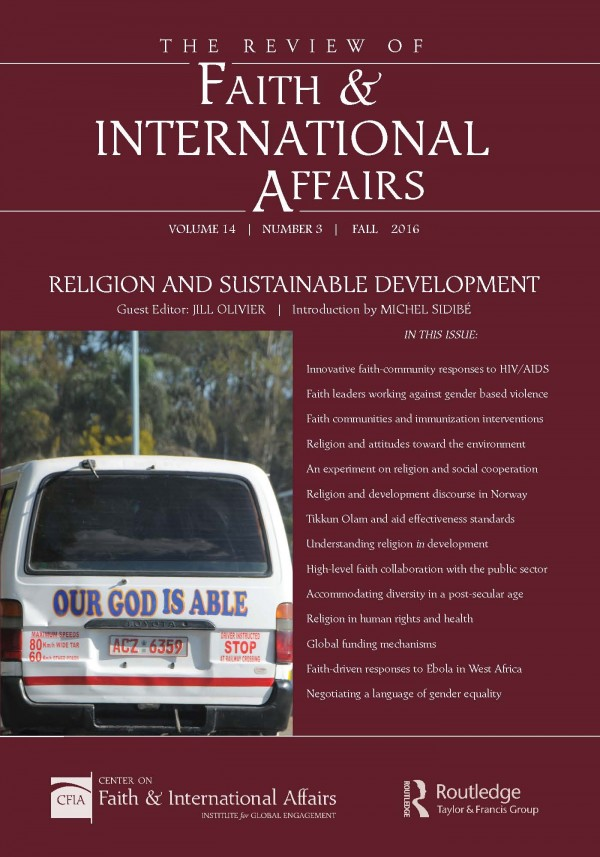Religion and Sustainable Development