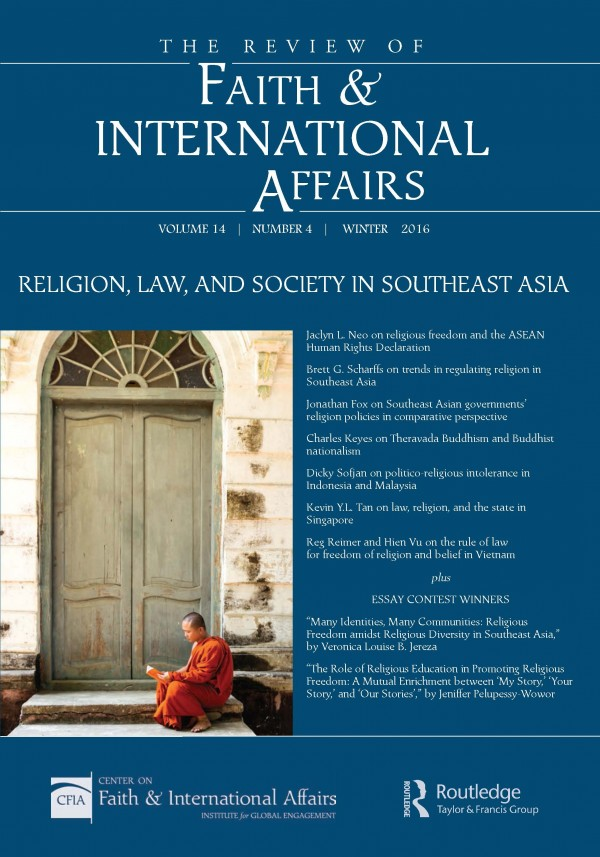 Religion, Law, and Society in Southeast Asia