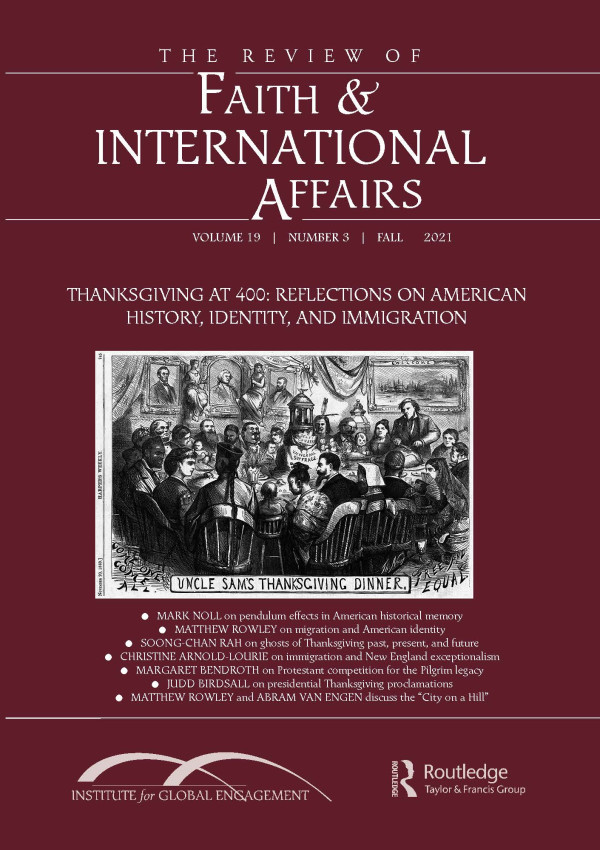"""Symposium: Who """"Belongs"""" at Uncle Sam's Thanksgiving Table? Reflections on American History, Identity, and Immigration"""