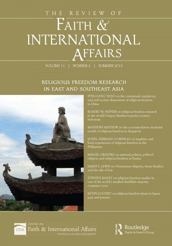 Religious Freedom Research in East and Southeast Asia