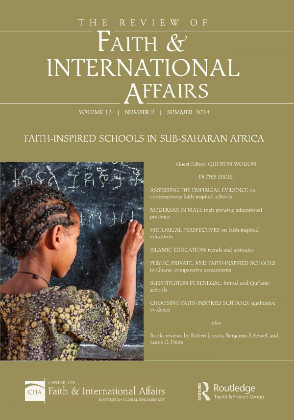 Faith-Inspired Schools in Sub-Saharan Africa