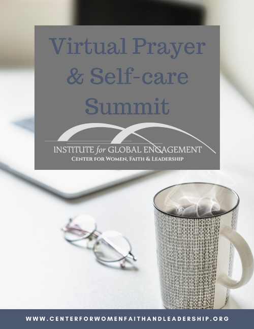 virtual prayer and self care summit