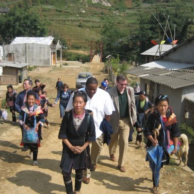 An IGE delegation visits the Northwest highlands in 2007. It was a strict religious landscape at the time. From 2007-2015 IGE conducted religion policies and registration seminars throughout the region; pluralism is becoming more acceptable to the go