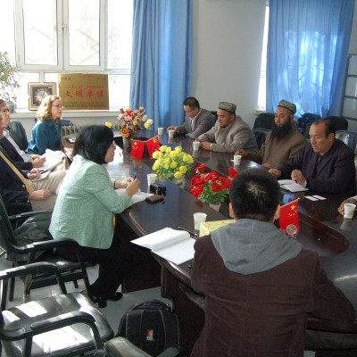 IGE delegation meets with Chinese officials and Uighur Muslim leaders in Xinjiang
