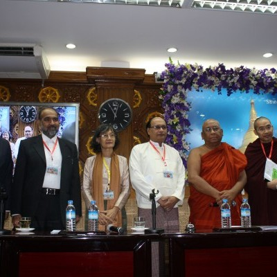 In 2013, IGE convened an international conference on religion, security, and co-existence in Yangon in partnership with the Sitagu International Buddhist Association. IGE also brought a multifaith delegation from South, Southeast, and Central Asia to