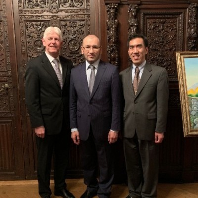 6 Feb, 2019: Honored to be guests of the Embassy of Uzbekistan to celebrate the formation of the first-ever Congressional Uzbekistan Caucus. Thank you to Ambassador Javlon Vakhobov for his invitation.