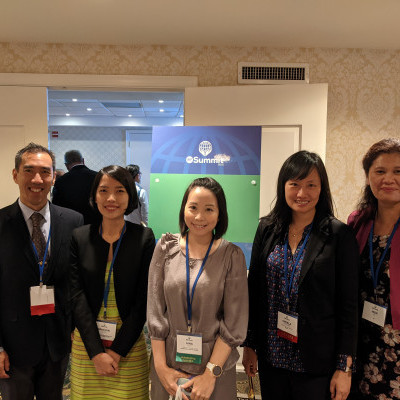 Several members of the IGE Team (past and present) at the IRF Summit