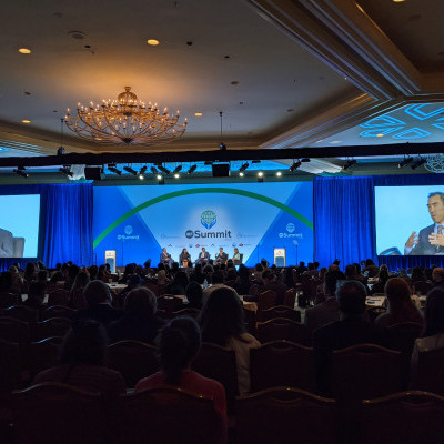 """IGE VP of Global Operations James Chen spoke on a panel on """"The Role of Philanthropy in IRF"""