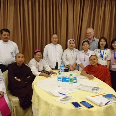 In 2017, IGE was asked to help facilitate a religious peacebuilding conference convened by the Catholic Bishops Conference of Myanmar.