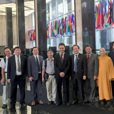 IGE often hosts Vietnamese partners (academics, religion policy advisors) to the U.S. This is a 2015 delegation where we conducted several meetings to facilitate the exchange of information about religion.