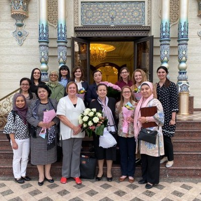 CWFL was welcomed to Tashkent by the Women's Committee of Uzbekistan