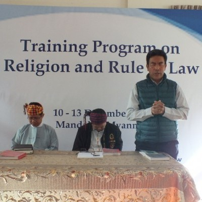IGE Holds Religion and the Rule of Law Training for Kachin Church Leaders in Myanmar