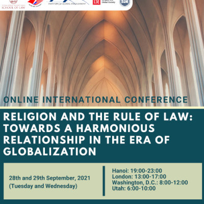 IGE and Vietnam National University Law School Host Religion and Rule of Law Conference