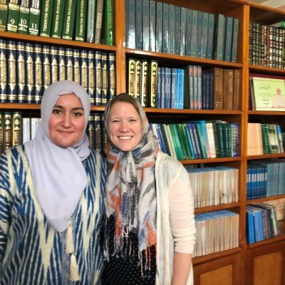 CWFL Fellows participated in a study tour to local women's madrasas, led by 2019 CWFL Fellow, Nozima Ibragimova