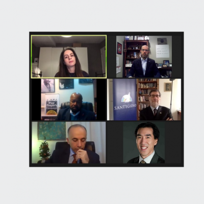 IGE Convenes Timely Webinar Featuring Models of Christian Peacemaking at Home and Abroad