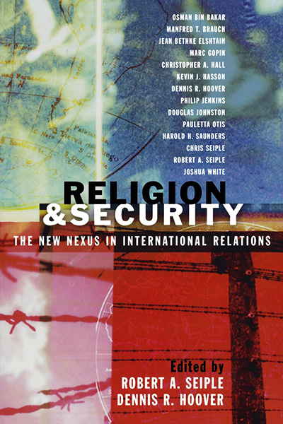 religion security nexus IR book cover